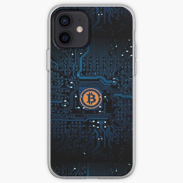 Bitcoin Bits Funda blanda para iPhone