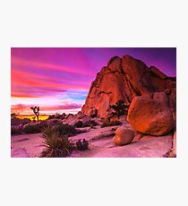 Last Nights Sunset 022015 Photographic Print