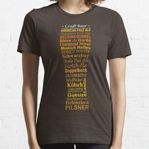 Bière artisanale T-shirt essentiel