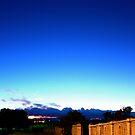 Blue Ring Horizon by The Mattmosphere