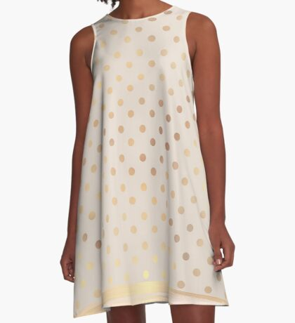 AFE Polka Dots A-Line Dress