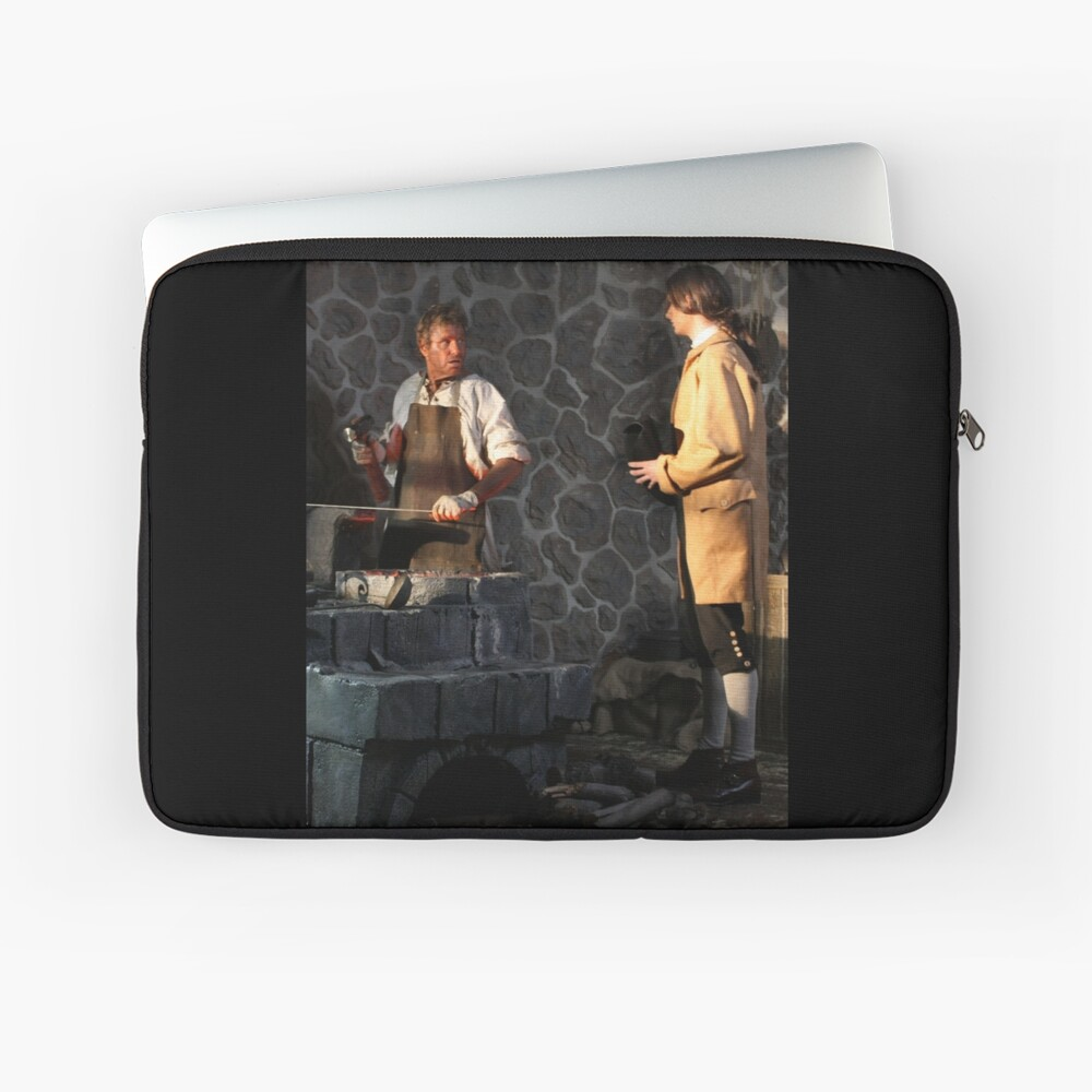 Will speaks to Roan Blackthorne in Highwayman movie Laptop Sleeve