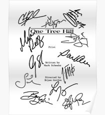 One Tree Hill Script Poster