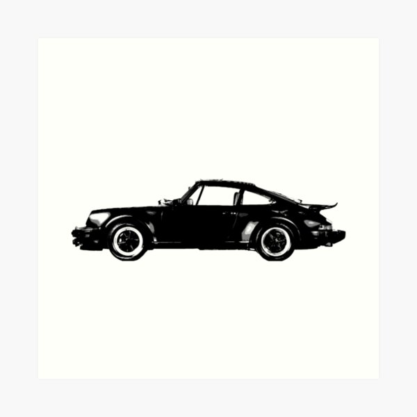 Porsche 911 Turbo 930 Impression artistique
