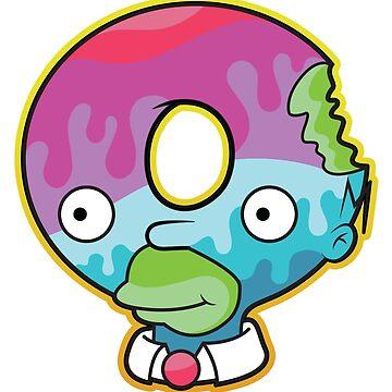 Simpsons - Homer - Treehouse of Horros - Donut Parody by MerchForMagic