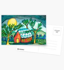 Home Sweetest Home Postcards