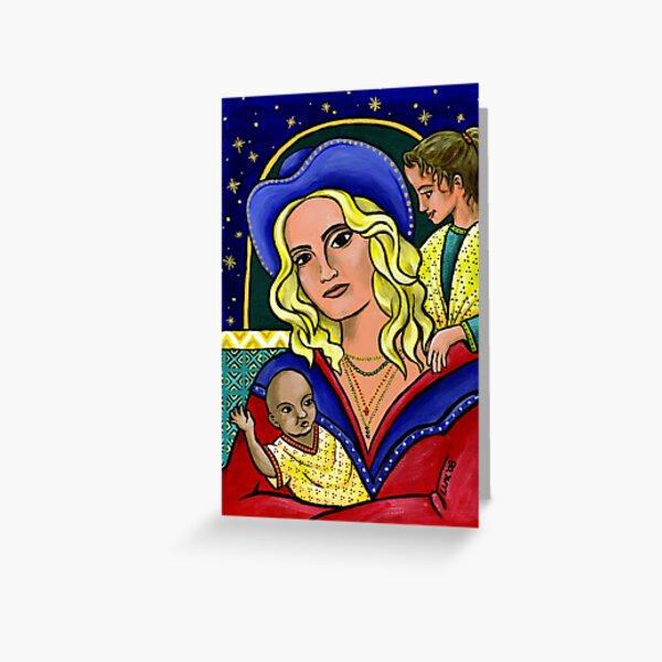 Madonna Girl Gang Greeting Card