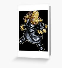 Nemesis: Resident Evil Greeting Card