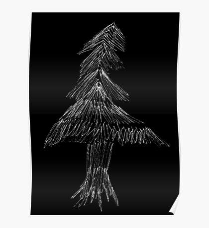 Scratch Tree Poster