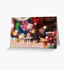 Star Wars Christmas Greeting Card