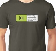 Homebrewing Classification Unisex T-Shirt