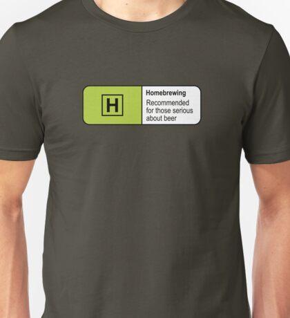Homebrewing Classification Unisex T-Shirt