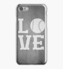 Baseball Love 2 iPhone Case/Skin