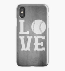 Baseball Love 2 iPhone Case