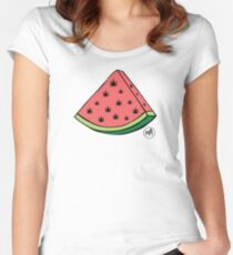 Weedmelon Fitted Scoop T-Shirt