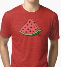 Weedmelon Tri-blend T-Shirt