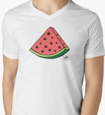 Weedmelon V-Neck T-Shirt
