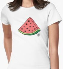 Weedmelon Fitted T-Shirt