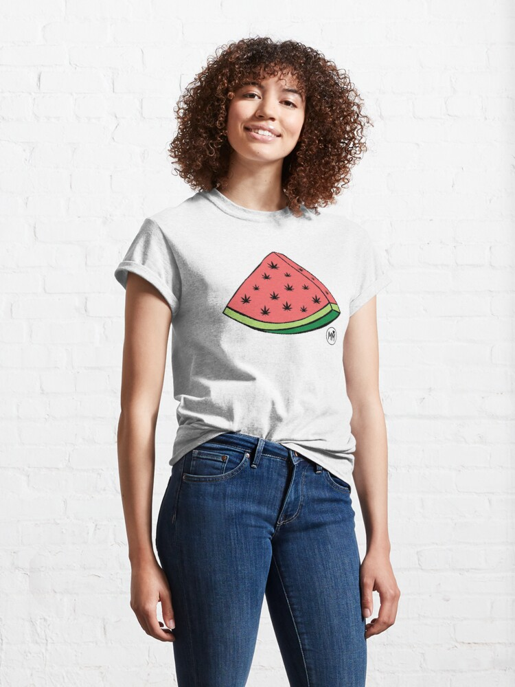 Alternate view of Weedmelon Classic T-Shirt