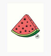 Weedmelon Art Print