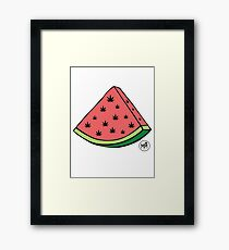 Weedmelon Framed Print