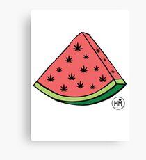 Weedmelon Canvas Print