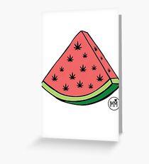 Weedmelon Greeting Card