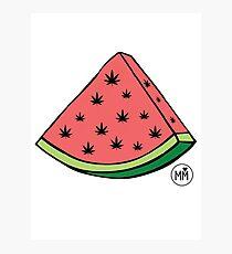Weedmelon Photographic Print