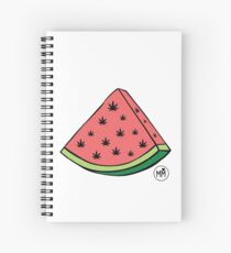 Weedmelon Spiral Notebook