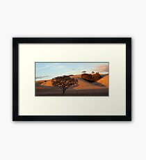 Heart Hill Framed Print