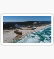 Warren River Mouth, D'Entrecasteaux National Park, Pemberton, Western Australia Sticker