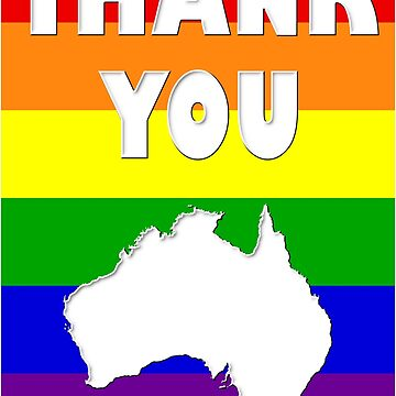 Marriage Equality Australia Votes Yes 2 by figureofpeach
