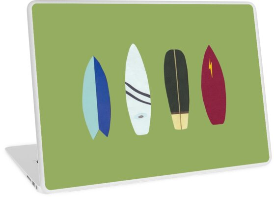 surfboards by Sandy Mitchell