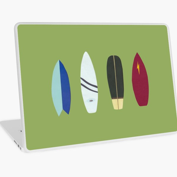 surfboards Laptop Skin