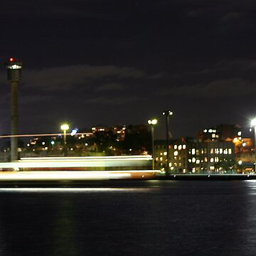 ferry across the harbour by OTBphotography