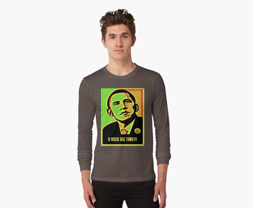Obama rocks by Sugarpop