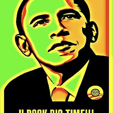 Obama rocks by Sugarpop