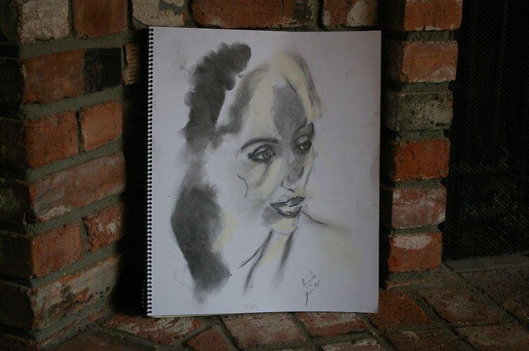 portrait of a friend by samgab