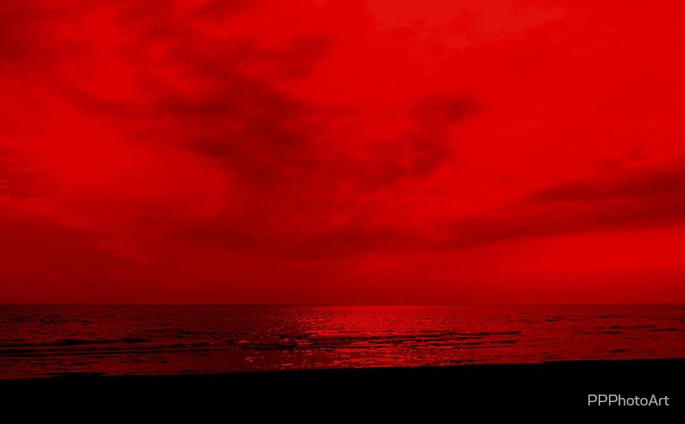 Woodbine Beach (manipulated) by PPPhotoArt