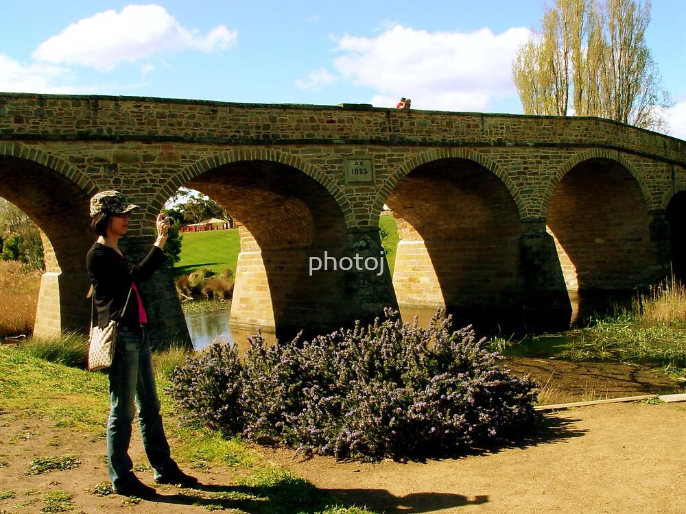 photoj Tasmania-Tourist, Richmond Bridge by photoj