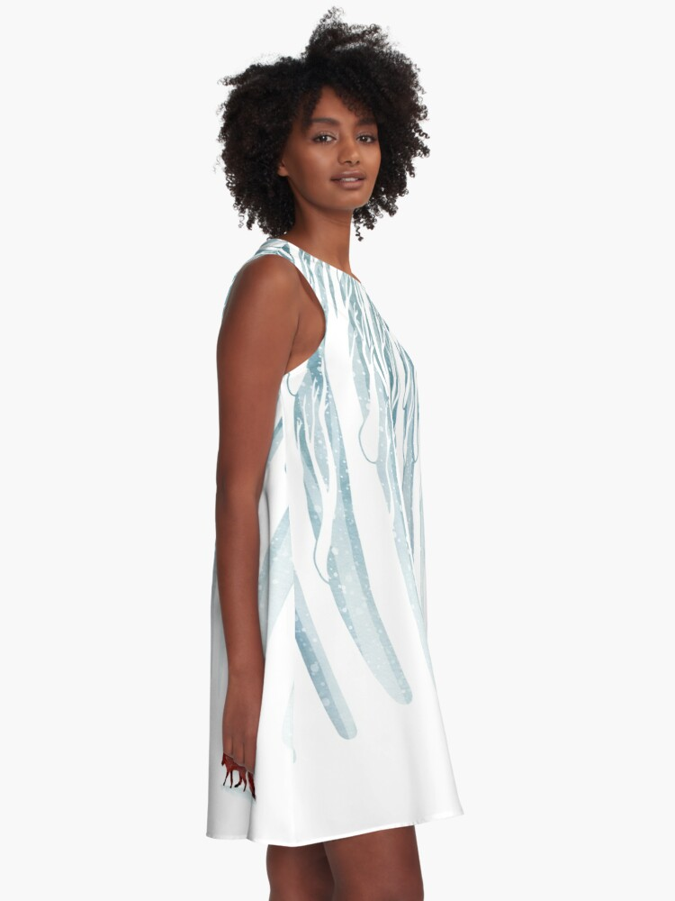 Alternate view of Winter Storm A-Line Dress