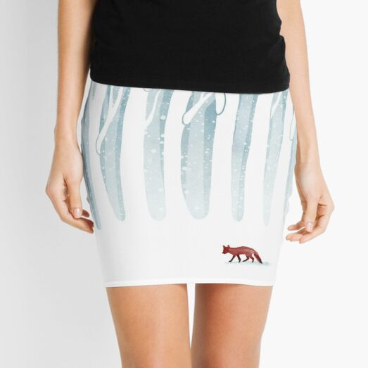 Winter Storm Mini Skirt