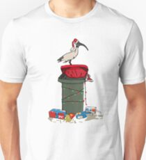 Xmas Bin Chicken Unisex T-Shirt