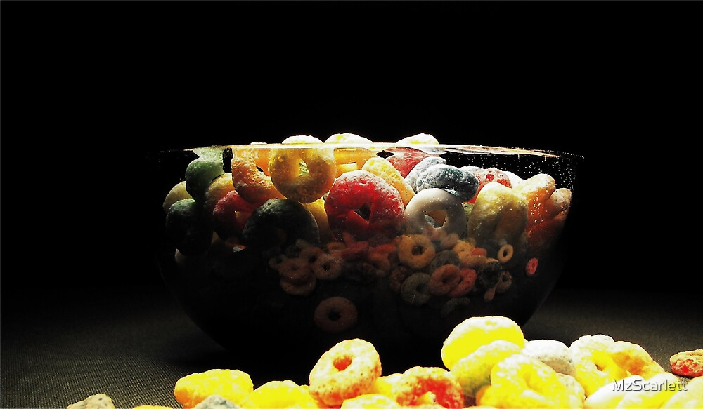 Fruit Loop Cereal by MzScarlett