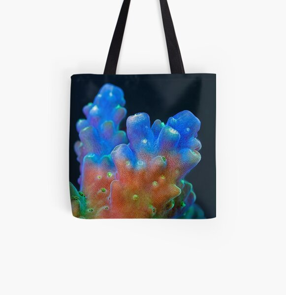 Acropora All Over Print Tote Bag