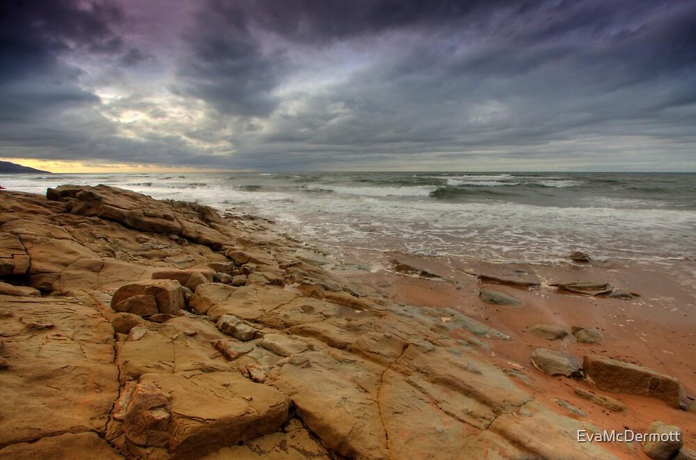 The Rock under a Stormy Sky by EvaMcDermott