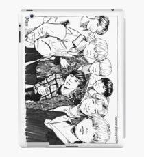 BTS OT7 inktober  iPad Case/Skin