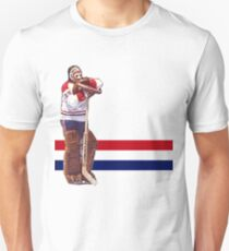 Ken Dryden - The Pose (white) Unisex T-Shirt