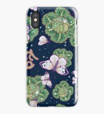 mischief in the garden iPhone Case