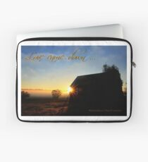 Love came down ...  Laptop Sleeve